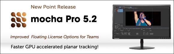 mocha Pro 5.2 release