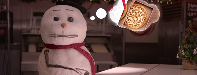 Pizza Hut spot: Mocha Pro and Adobe After Effects
